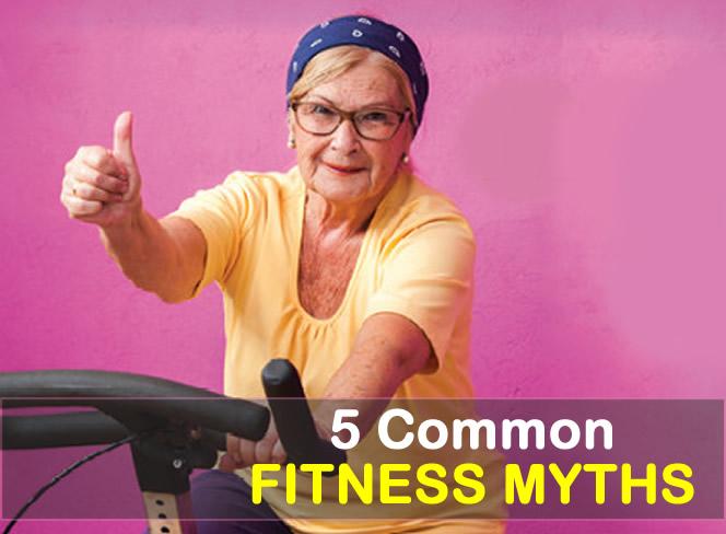 Five common fitness myths you probably still believe