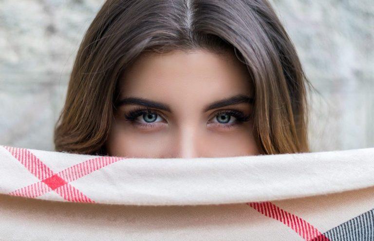 Sagging eyes